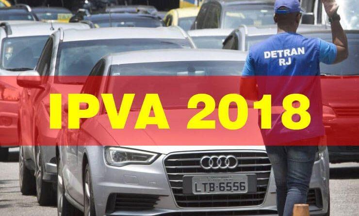 IPVA RJ 2018